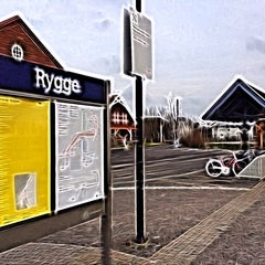 Photo taken at Rygge stasjon by Bolek A G A. on 2/24/2014