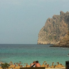 Photo taken at Cala Molins by Танюшка Дьяченкова on 7/18/2013