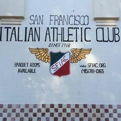 Photo taken at San Francisco Italian Athletic Club by Monkeyking on 6/14/2014