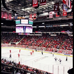 Photo taken at PNC Arena by Ville K. on 10/16/2013