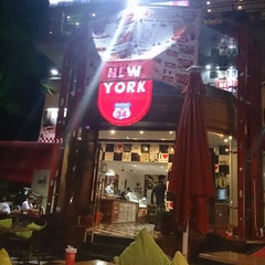 Photo taken at New York Cafe & Food by MeHMeT K. on 7/11/2013