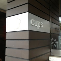 Photo taken at Cups Organic Cupcakes by Raciel D. on 1/26/2013