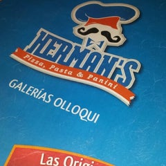 Photo taken at Herman's Pizza - Gal. Olloqui by Frank E. on 7/27/2013