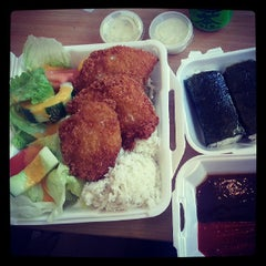 Photo taken at L & L Hawaiian Barbecue by Daniel C. on 7/7/2013