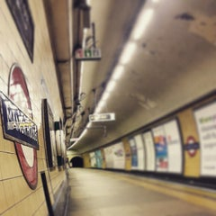 Photo taken at Manor House London Underground Station by Josef H. on 1/15/2015