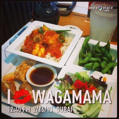 Photo taken at Wagamama by Genesis M. on 2/16/2013