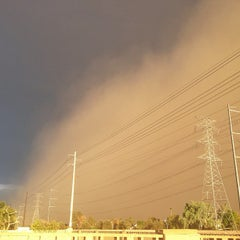 Photo taken at Tempe Canal @ Guadalupe Rd by Chanelle S. on 8/27/2013