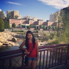 Photo taken at Truckee River by Precy B. on 8/27/2014