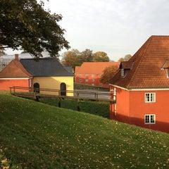 Photo taken at Kastellet Volden Ved Grønningen by Claus M. on 10/25/2013