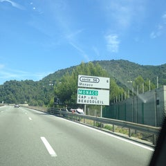 Photo taken at Tunnel de Monaco by Yakovesha on 8/21/2014