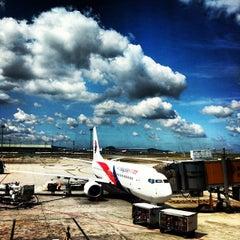Photo taken at Kuala Lumpur International Airport (KUL) by Derrick L. on 7/10/2013