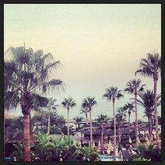Photo taken at Adams Beach Hotel by Abdulrahman A. on 8/28/2013