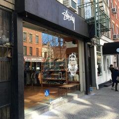 Photo taken at Stussy New York by Tvorek on 2/27/2016