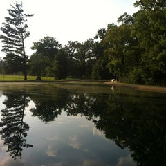 Photo taken at Overton Park by Jackie B. on 8/26/2013