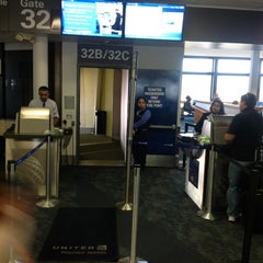 Photo taken at Gate 32A by Event D. on 9/11/2012