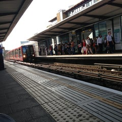 Photo taken at Limehouse DLR Station by Paulo S. on 7/26/2013