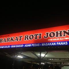 Photo taken at Barkat Roti John by remy v. on 9/18/2013