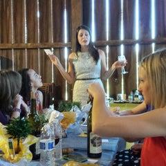 Photo taken at Hiddencroft Vineyards by Marisa P. on 8/24/2013