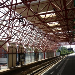 Photo taken at Station Almere Centrum by Joghem on 7/15/2013