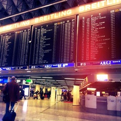 Photo taken at Terminal 1 by Özge T. on 2/20/2014