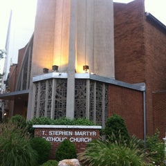Photo taken at St. Stephen Martyr Catholic Church by Armie on 8/11/2014