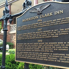 Photo taken at Morrison-Clark Inn by Armie on 5/29/2015