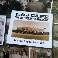 Photo taken at L&J's Cafe by Charlotte W. on 11/9/2012