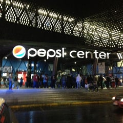 Photo taken at Pepsi Center WTC by Javier G H. on 4/26/2013