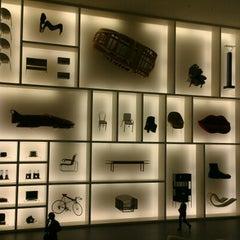 Photo taken at Pinakothek der Moderne by Erik C. on 12/23/2012
