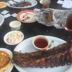 Photo taken at Wagner's Ribs by Jonathan D. Y. on 7/3/2015