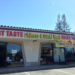 Photo taken at Best Taste Chinese Food & Sushi by Ray L. on 3/9/2013