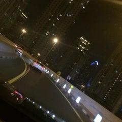 Photo taken at Sheikh Mohammed Bin Zayed Road شارع الشيخ محمد بن زايد by KAREZMA on 1/20/2015