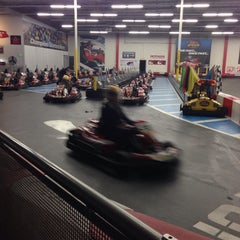 Photo taken at K1 Speed by Michael O. on 11/25/2014
