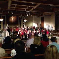 Photo taken at St. John Eudes Church by Michael O. on 12/18/2014