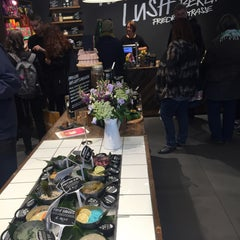 Photo taken at LUSH by Carlos L. on 10/10/2015