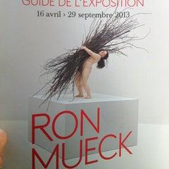 Photo taken at Fondation Cartier pour l'Art Contemporain by Emilie A. on 4/14/2013