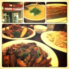 Photo taken at Mr. Chan Asian Cuisine by Michael M. on 4/27/2013
