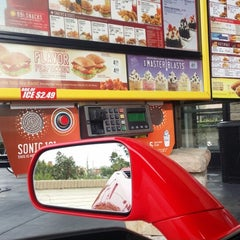 Photo taken at SONIC Drive In by ABDULLAH ZAYED on 4/17/2014