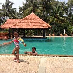 Photo taken at Poovar Island Resort by Aditi D. on 8/13/2013
