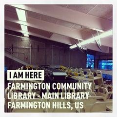Photo taken at Farmington Community Library - Main Library by Dan I. on 3/11/2013