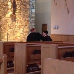 Photo taken at St. Joseph Catholic Church by Maria P. on 4/11/2014