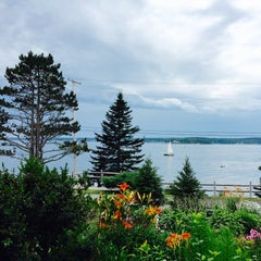 Photo taken at Spruce Point Inn Resort and Spa by Norman E. on 7/19/2015