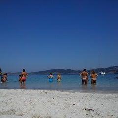 Photo taken at Praia de Castiñeiras by Ana P. on 8/20/2013