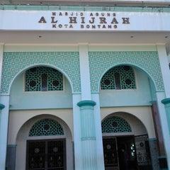 Photo taken at Masjid Agung Al-Hijrah by Bucil U. on 5/14/2013