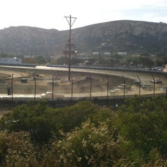 Photo taken at Barona Speedway & Dragstrip by Brianancy D. on 6/22/2014