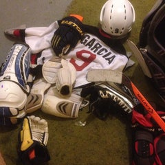 Photo taken at Water City Roller Hockey by Alex G. on 2/27/2014