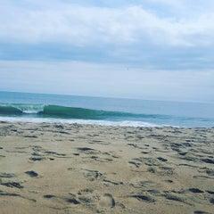 Photo taken at 59th St Beach by Kristin B. on 9/13/2015