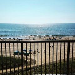 Photo taken at 59th St Beach by Kristin B. on 8/17/2015
