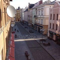 Photo taken at Ostrožná | Pěší zóna by Dana S. on 3/21/2014