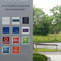 Photo taken at Accor Hospitality Germany GmbH by Mathias D. on 5/13/2014